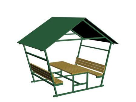 çatılı piknik masası gz18m-b