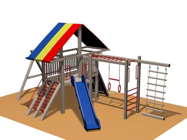 Ahşap Çocuk Parkları