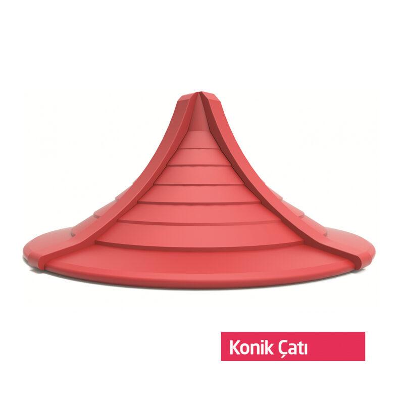 konik çatı
